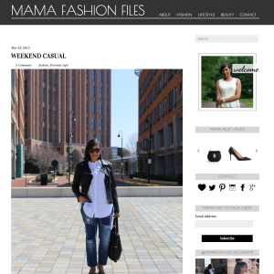 Mama Fashion Files